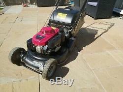 Honda Pro Hrh 536 Qxe Rear Roller petrol Lawn Mower 2013 21inch Self Propelled