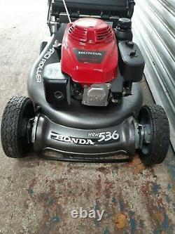 Honda Professional HRH536 QX Petrol Lawnmower SALE RRP £1749 Rear Roller