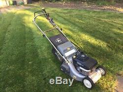 Honda Type Sharp lawnmower Petrol Self Propelled Lawnmower With Rear Roller