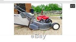 Honda hrd 535 self propelled rear roller lawnmower pick up only
