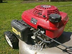 Honda izy petrol lawnmower, self propelled, fully working. Starts first time