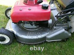 Honda roller mower Electric start Classic HR2160 petrol 21 with steel rollers