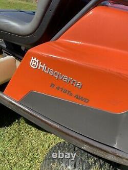 Husqvara R418ts Awd Outfront Mulching Mower