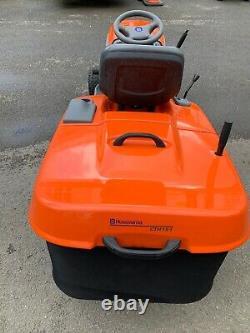 Husqvarna CTH 151 Ride On Lawnmower with Grass Bag