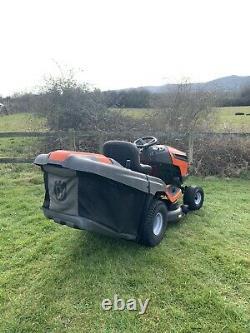 Husqvarna Cth164t Petrol Ride On Mulching/ Direct Collect Lawn Mower