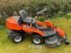 Husqvarna R216 AWD Petrol Ride on Mower, Out Front Rotary in full working order