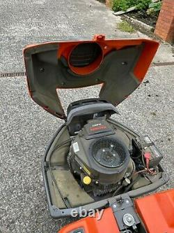 Husqvarna Ride-on Mower R316TXS-AWD with 112cm cutting deck and snowplough