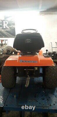 Husqvarna lt125 ride on mower