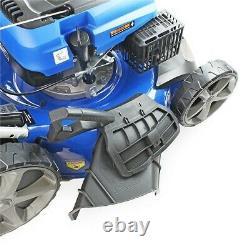 Hyundai 20 51cm 510mm Lawn Mower Self Propelled 196cc Petrol Lawnmower HYM510SP