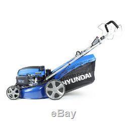Hyundai HYM460SPE 18 46cm 460mm Self Propelled Lawnmower Electric Push Button