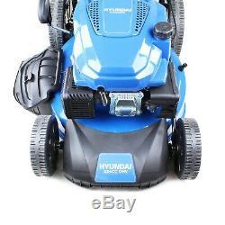 Hyundai HYM530SPE Petrol Self Propelled Lawn Mower 53cm/21cm Elec Start