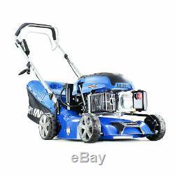 Hyundai Lawnmower Electric Start Self Propelled 43cm 430mm Petrol Lawn mower