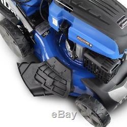 Hyundai Lawnmower Electric Start Self Propelled 46cm 460mm Petrol Lawn mower