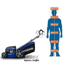 Hyundai Petrol Lawnmower 46cm 139cc Self Propelled Petrol Lawn Mower HYM460SP
