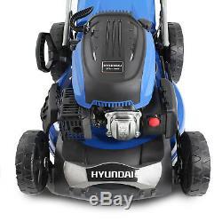Hyundai Petrol Lawnmower Self Propelled 173cc 51cm 20 Cut Lawn Mower HYM510SP