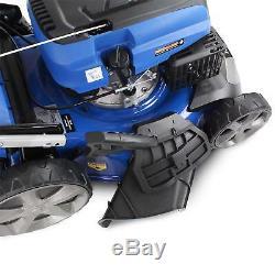 Hyundai Self Propelled Petrol Lawnmower & FREE OIL 46cm 460mm Cut Lawn Mower