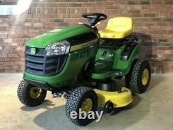 JOHN DEERE Tractor Mower BRAND NEW E100 series RIDE ON 42 cut 17.4 HP