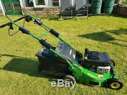 John Deere C52VK Professional Petrol Lawn mower Self Propelled 180cc Kawasaki