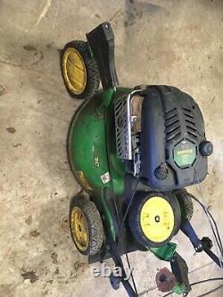 John Deere JS63C 21 Zero Turn Caster Action Self Propelled Mulching Lawn Mower