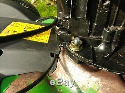 John Deere JS63V 21 Petrol Rotary Mulch Mower Variable Speed Self Propelled