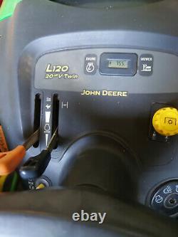 John Deere L120 V-twin 20hp Automatic Ride On Lawn Mower