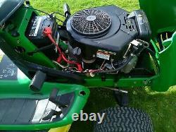 John Deere LT170 Automatic 42 freedom mulching deck