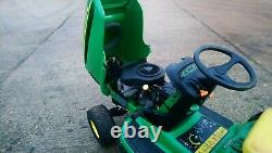 John Deere LTR180 ride on mower 42inch, collector, with rear discharge chute