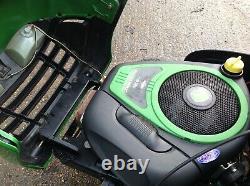 John Deere X110 Ride On Mower 42 Inch Deck Hydrostatic Drive 18.5 HP Engine