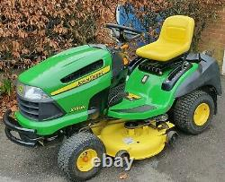John Deere X130R Ride On Mower Garden Tractor 42 Cut 18Hp Engine