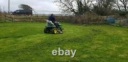 John Deere X140 Ride on Mower, Just been fully serviced, can deliver
