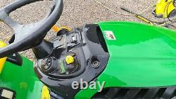 John Deere X165 Ride On Mower 48 Deck Lawnmower Tractor