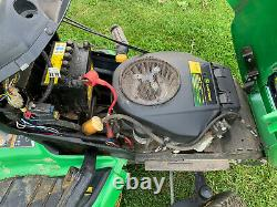 John Deere X300R Ride on Lawn Mower 42 Deck Collector Garden Compact Tractor
