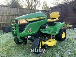 John Deere X350 Ride On Lawn Mower Garden Tractor 42 Deck