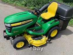 John Deere X540 Ride on Lawnmower 48 Inch 225 Hours