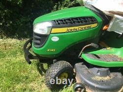 John Deere petrol ride on lawn mower