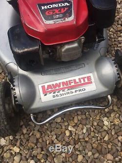 Kaaz Honda Lawnflite 553 Pro Self Propelled Petrol Lawnmower Roller Lawn Mower