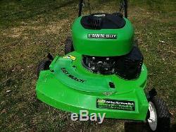 LAWN BOY GOLD PRO Duraforce 21 10550 6.5 hp 2 Cycle Stroke Self Propelled Mower
