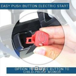 Lawn Mower Petrol Electric Start Self Propelled 43cm 430mm Hyundai HYM430SPE