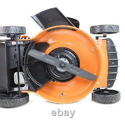 Lawn Mower Petrol Recoil Start Lawnmower Mulch 20 510mm Hyundai 173cc Engine