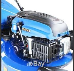 Lawn Mower Petrol Self Propelled ELECTRIC START Roller 53cm 21 HYM530SPER