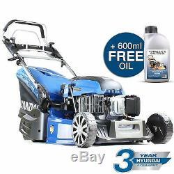 Lawn Mower Petrol Self Propelled ELECTRIC START Roller Lawnmower 53cm 21