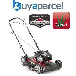 Lawnflite MTD 53cm Petrol Mulcher Lawn Mower Self Propelled Smart S53MSPB Briggs