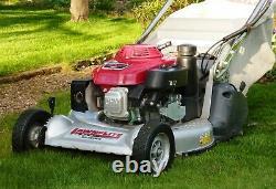 Lawnflite Pro 553hrs Rear Roller Lawnmower Serviced Honda Gxv160 Danarm Hrh536