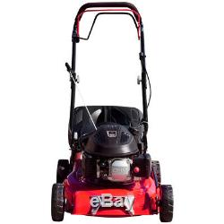 Lawnmower 17 43cm 430mm Petrol Self Propelled Pull Start RocwooD And Lifter