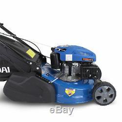 Lawnmower Petrol Roller Self Propelled Lawn Mower 46cm 18 Striped / Lined Cut