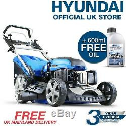 Lawnmower Petrol Self Propelled ELECTRIC START 173cc LARGE 51cm + OIL HYM510SPE