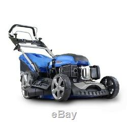 Lawnmower Petrol Self Propelled ELECTRIC START 173cc LARGE 51cm + OIL HYM510SPE