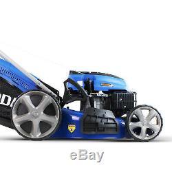 Lawnmower Petrol Self Propelled Lawn Mower 51cm 20 510mm 173cc 4 in 1 Cut