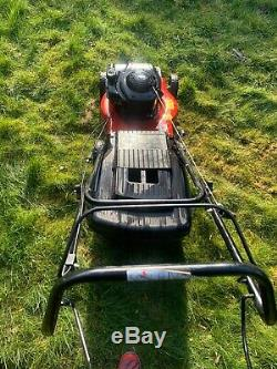 MOUNTFIELD SP185 Self Propelled Petrol Lawnmower With Box & Mulch Plug Serviced