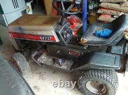 MTD Lawnflite ride on garden tractor/mower. 38 cut